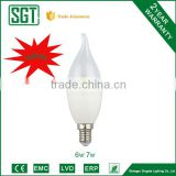high quality candle bulb lamp led bulb in china electric bulb