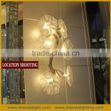 Villa Wall Art Glass Lamp Hand Blown Glass Wall lighting