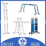 3 Three Part Aluminium Extension ladder, GS and EN131 approval