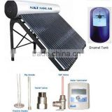 hot water heater: Integrated & Pressurized solar water heater with Porcelain Enamel inner tank
