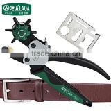 LAOA Revolving Leather Hole Punch Canvas Belt Punch Punching Plier Hydraulic Metal Hole Punch For Metal