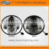 "High Quality 7"" LED Headlamp for AM General Hummer Super Bright Round LED Head Lights for AM General Hummer 1992-2001"