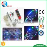hot sell led wheel light bike car trye tire valve caps / programable led bike wheel light / bike spoke light