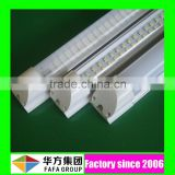 UL listed aluminum light fixture integrated 2400mm 8ft 8 ft t8 led fluorescent tube replacement with 3 5 years warranty