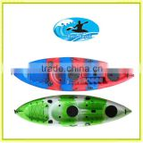 2014 new color for sale Sunrise Angler sit on tp fishing kayak/Made in China /Cheap kayaks mini speed boat