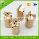 Best selling from manufacturer standard size cemented tungsten carbide drill bit for rock drilling