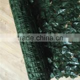 High quality and cheaper artificial leaf fence/wall for outdoor and garden landscape                                                                         Quality Choice