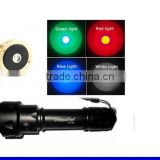 Uniquefire professional T20 IR led/green light flashlight torch