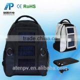 backpack with the solar panel solar panel backpack with Speaker