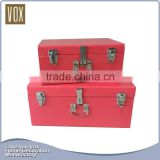Best Selling Home Decorative metal storage trunks for sale
