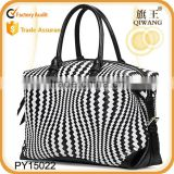 high quality woven genuine leather large tote bag for lady European style                                                                         Quality Choice