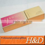 2013 the besting selling paper gift box with customer logo and famous brand