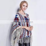 Wholesale Sunday Angora Yarns Jacquard Sleeves Winter Warm Crochet Knit Long Soft Wrap Shawl Scarves