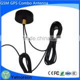 Multifuntion GPS GSM WiFi Antenna with Two Rg174 Cable High Quality Active GPS GSM Combination Antenna with SMA Male Connector