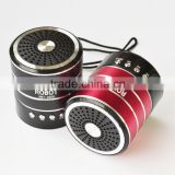 Robot-030 vibration portable card speaker,active powered Sound box,music speaker, fm radio