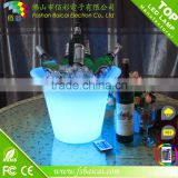 Whole sale Cube LED ice bucket Bar use bottle cooler LED bucket