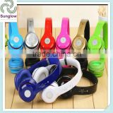 High quality Hi-Fi wireless memory card headphones with FM headset
