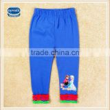 (G5361Y) Nova 2-6Y frozen elsa anna leggings kids girls trousers newest design lovely baby girls long legging pants
