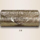 Factory wholesale Gorgeous Flower fashion lady fabric used make sequin evening clutch bags