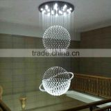 K9 Crystal Drop Rope Chandelier High Ceiling Pendant Lights 92039