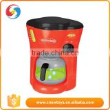 Modern life children plastic coffee pot kitchen toy for girls