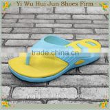 Black Wedge Flip Flop Sandal Heat Transfer Film For Eva Slipper