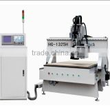 HG-1325H Factory price on sale high performance 6.0 kw HSD spindle korea cnc wood carving router machine