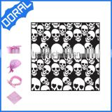 Unisex soft fabric skull face mask bandana