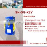 Digital speed governor,elevator over speed governor,elevator speed governor,speed governor ,SN-SG-X2Y