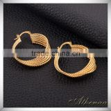 Fashion Earring Designs New Model Rose Gold Earrings Hook Brass Jewelry