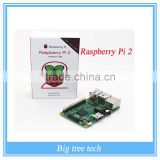 New & Original Raspberry pi 3 Raspberry Pi2 Model B Broadcom BCM2836 1G RAM 6 Times Faster Than Raspberry PI Model B+ Speed B402