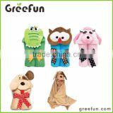 China factory promotional hooded baby bathrobe 100% cotton comfortable baby bathrobes, sleepwear,night dress