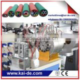 10/8mm 7 ways HDPE micro duct bundle production line fiber optical cable blowing machine