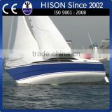 China manufacturing Hison 26ft personal power boat motor yacht