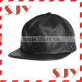 promotional good quality cheap flat brim snap back cap