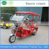 Passenger three wheel bike electrc rickshaw electric tricycle for india market