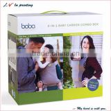 high quality babywearing cover packaging box in shanghai