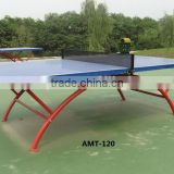 Outdoor rectanglar table top Ping Pong Set Portable Post Net Post