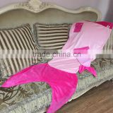 Warm Light Fish Blanket Adult Mermaid Tail Blanket For Watching TV Wearable