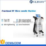 Nubway Beauty wrinkle removal micro needle fractional RF device/ anti aging machine Fractional RF