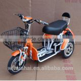 2016 hot selling cheap cargo bike China 3 wheel motor tricycle electric scooter trike with passenger seats