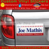 perfect removable cheap custom stickers, bumper stickers