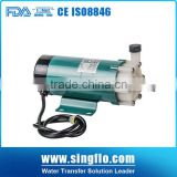 Singflo micro magnetic pump/hydraulic pump magnetic/Plastic magnetic pump for Medicine Industry