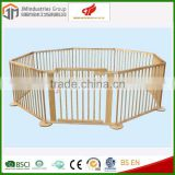2015 baby play yard /new european wooden baby playpen