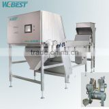 New Intelligent CCD Prawn Color Sorter Machine From Anhui China