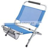 Outdoor 600D portable patio chair with steel tube