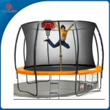 CreateFun Wholesale 10ft Fiberglass Trampoline With Enclosure