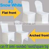 FACTORY SUPPLY 100pcs per lot BIG DISCOUNT WHITE spandex chair cover for weddings banquet chair cover