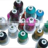 high sheen rayon embroidery thread 1000m