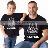High Quality Matching Clothes Father And Son Suits Look Children Family Matching T Shirt Sets